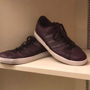 Adidas plum purple sneaker shoes 8.5